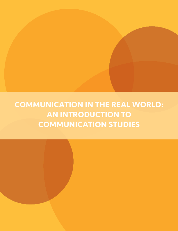 Cover image for Intro to Communication Studies
