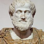 Marble bust of Aristotle