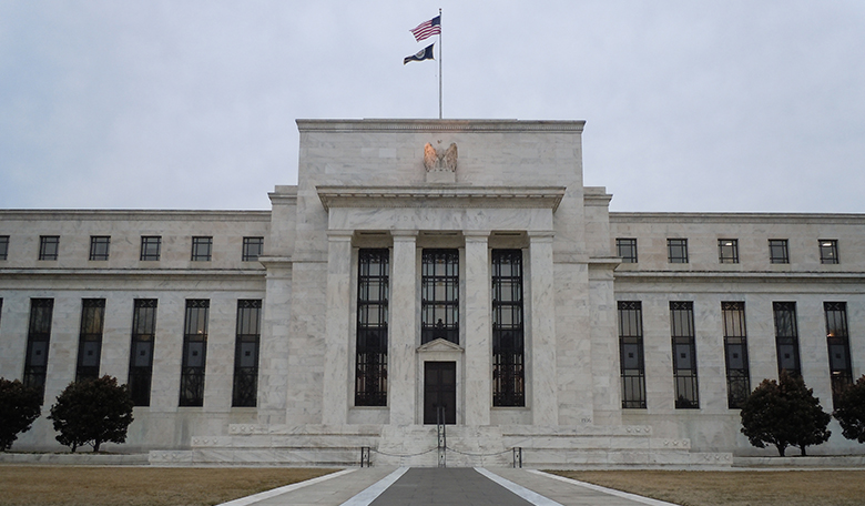 This is a picture of the Marriner S. Eccles Federal Reserve Building in Washington, D.C.