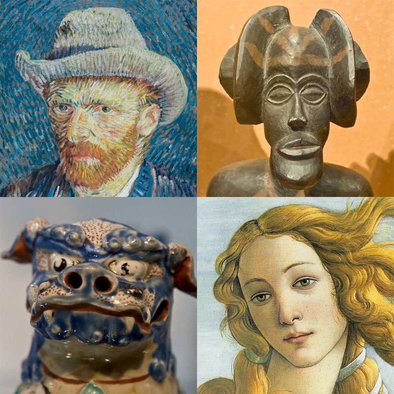 """Cover image for Art 205 """"Western Art from 18th to Mid 20th Century"""""""